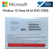 OEM PACKAGE SOFTWARE Windows 10 Home